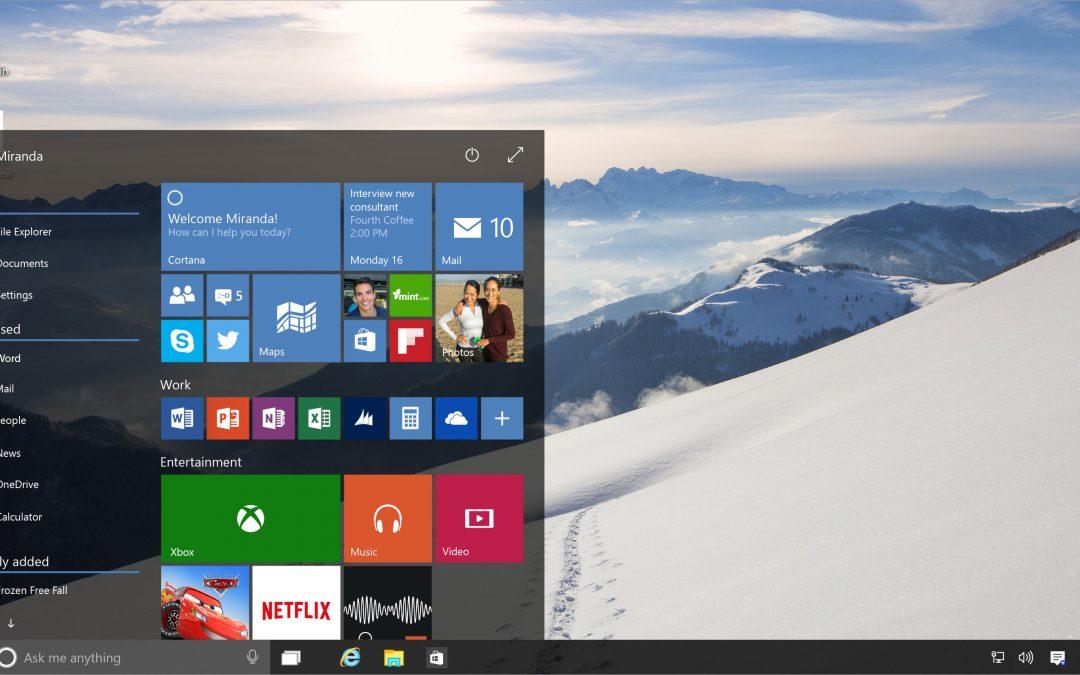 Windows 10 Upgrades This Summer!