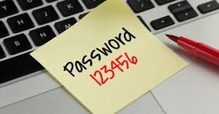 Worst Passwords (in order)