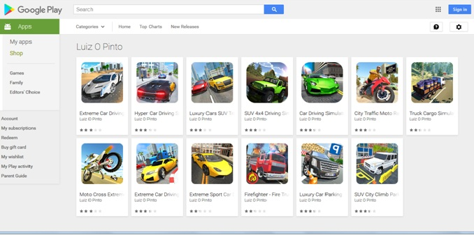 13 Google Play Games Installing Virus